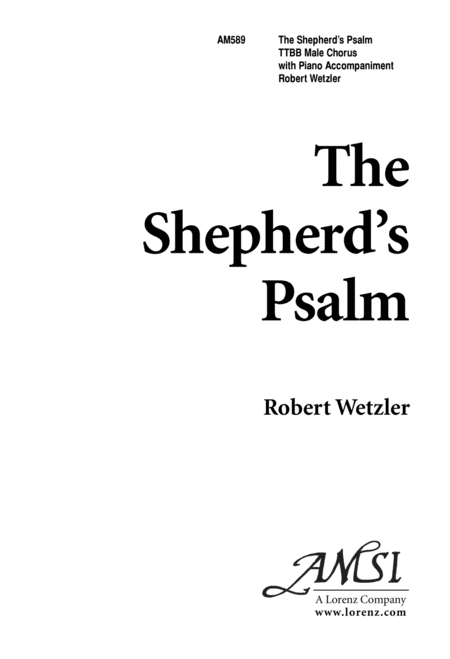 The Shepherds' Psalm