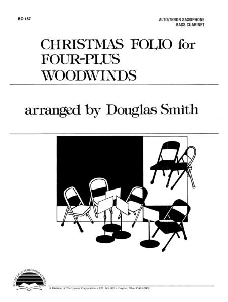 Christmas Folio for Four-Plus Woodwinds - Alto Sax
