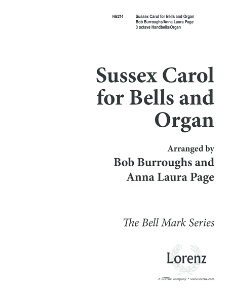 Sussex Carol For Bells And Organ