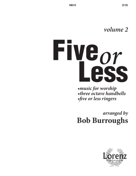 Five or Less Vol II