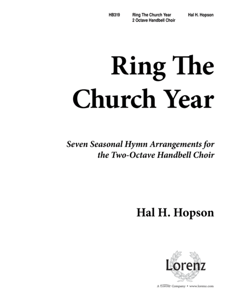 Ring the Church Year