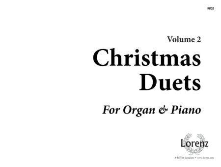 Christmas Duets for Organ and Piano, No. 2