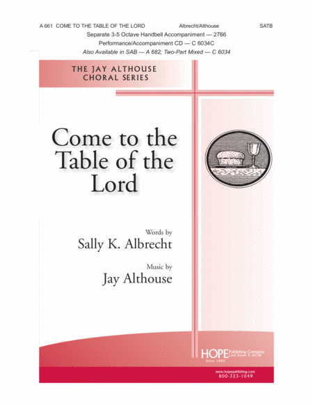 Come To The Table Of The Lord