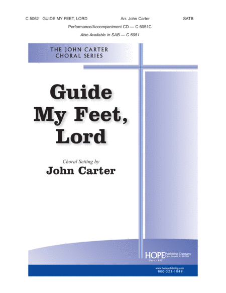 Guide My Feet, Lord