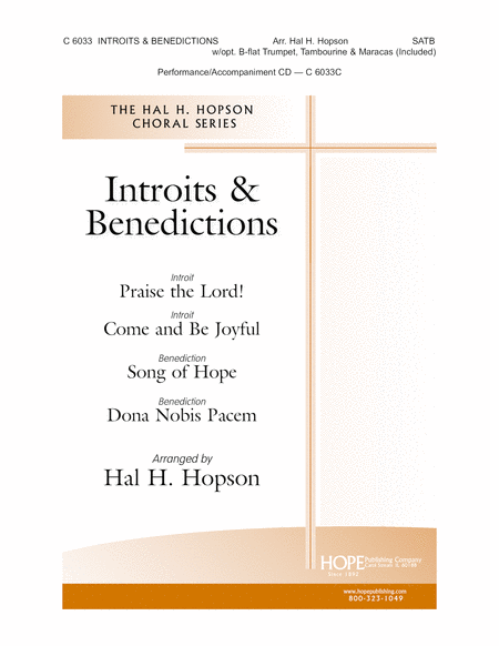 Introits & Benedictions