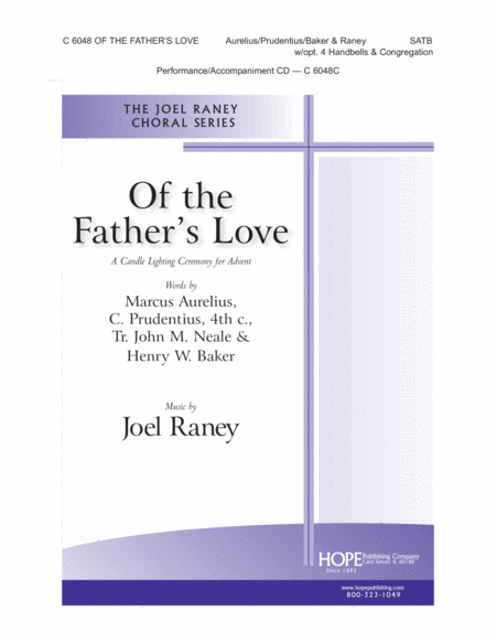 Of The Father's Love: A Candle Lighting Ceremony For Advent