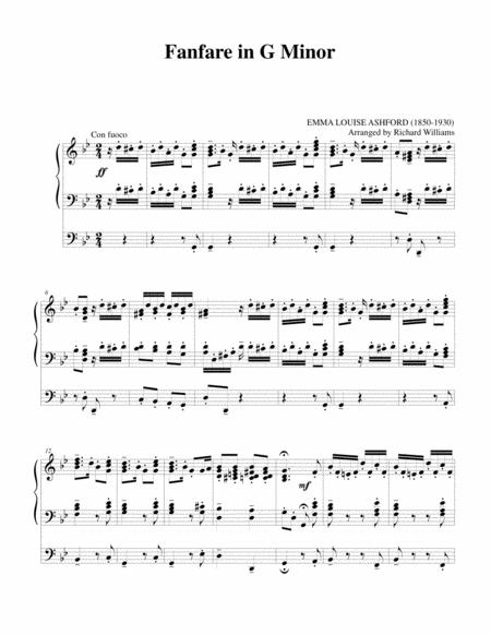 Fanfare in G Minor
