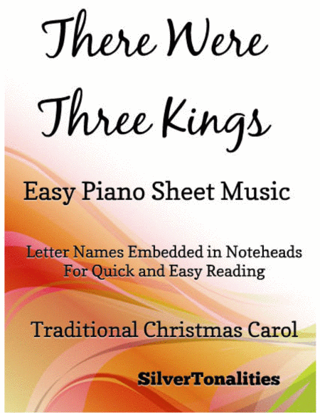 There Were Three Kings Easy Piano Sheet Music