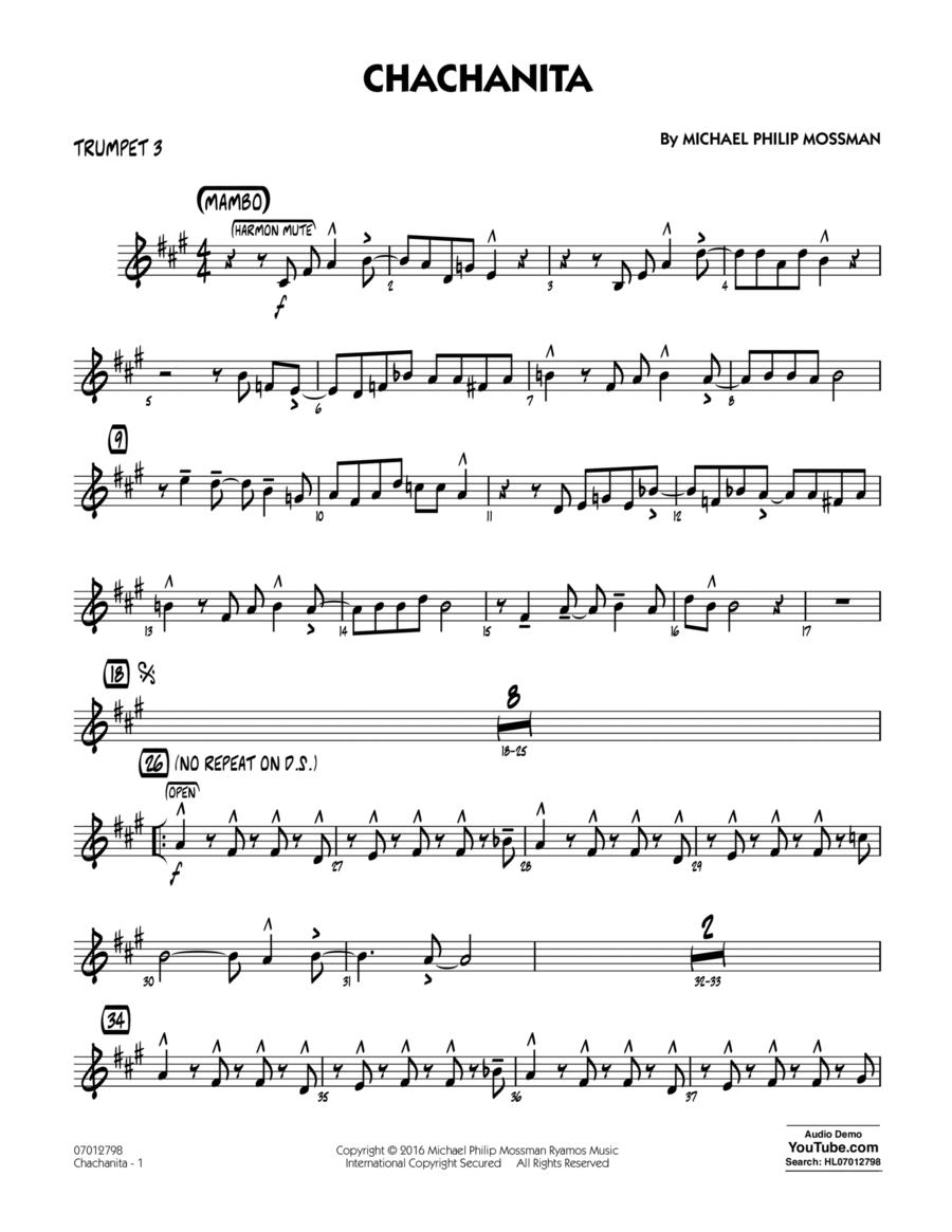 Chachanita - Trumpet 3