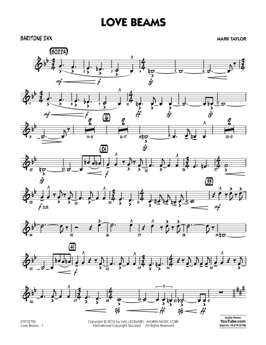 Love Beams - Baritone Sax