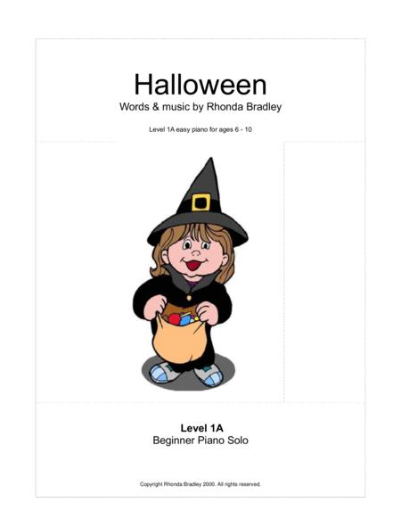 Halloween Song for kids + 2 bonus songs (primer level)