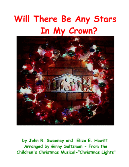 Will There Be Any Stars In My Crown? - from