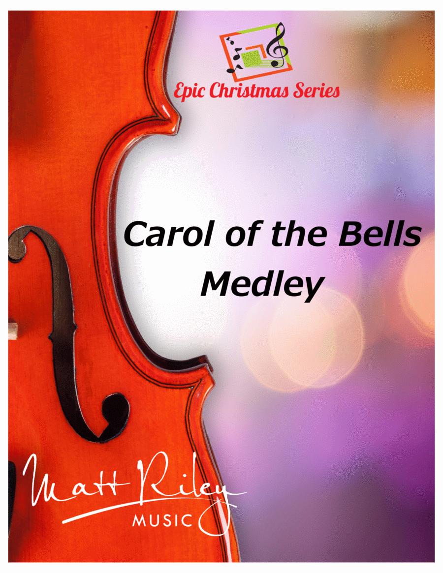 Carol of the Bells Medley - 2 Violins and Piano