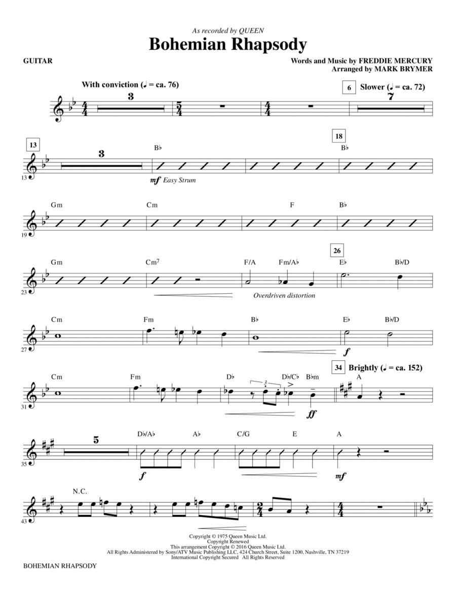 Bohemian Rhapsody - Guitar