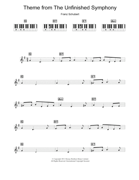 Theme From The Unfinished Symphony