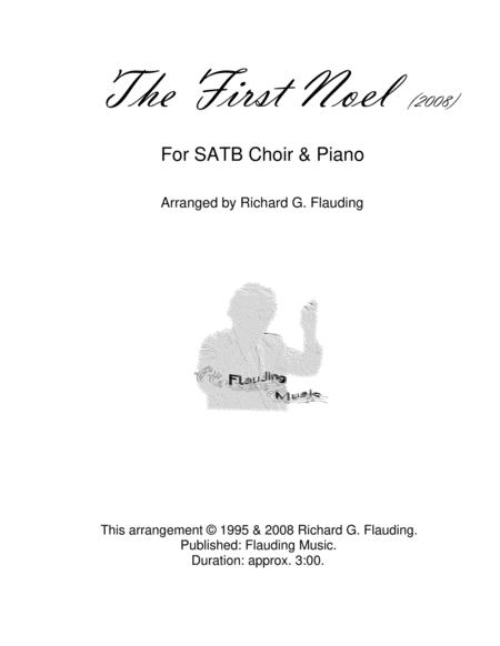 The First Noel (Choir & Piano)