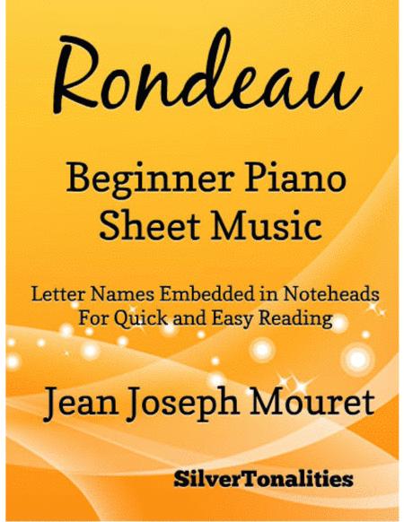 Rondeau Beginner Piano Sheet Music