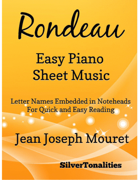 Rondeau Easy Piano Sheet Music