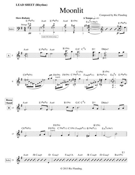Moonlit (Lead Sheet)