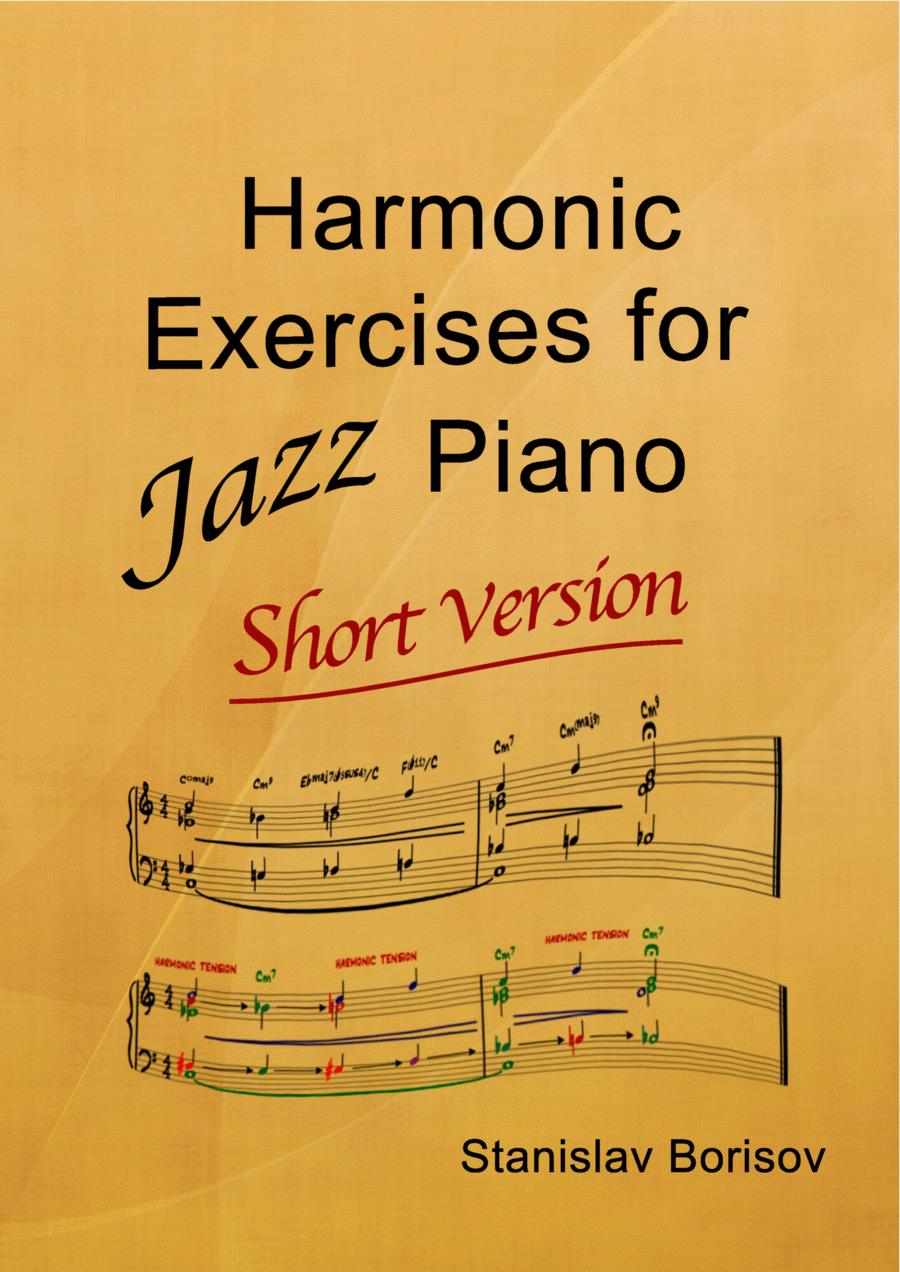Harmonic Exercises for Jazz Piano