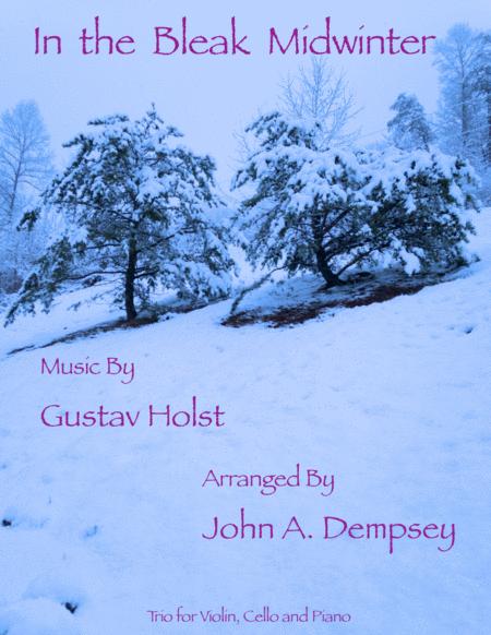 In the Bleak Midwinter (Trio for Violin, Cello and Piano)