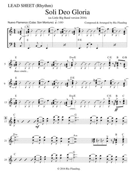 Soli Deo Gloria (Lead Sheet)