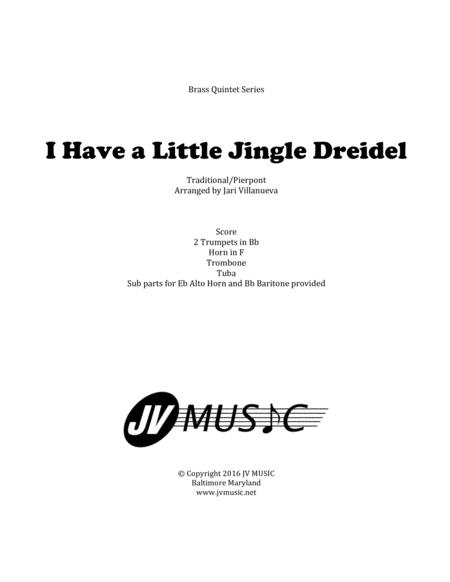 I have a Little Jingle Dreidel-Brass Quintet