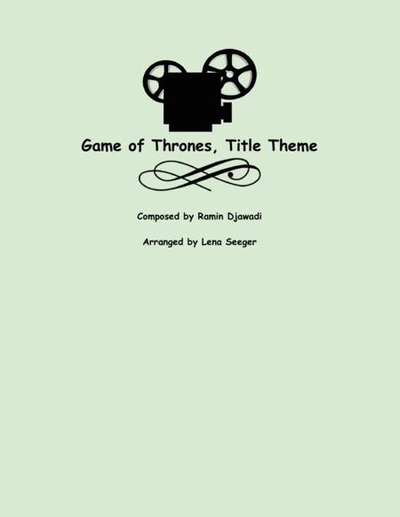 Game Of Thrones (string trio)