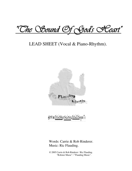 The Sound Of God's Heart (Lead Sheet)