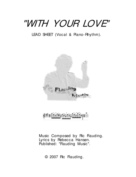 With Your Love (Lead Sheet)