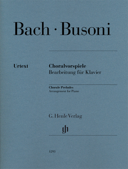 Chorale Preludes (Johann Sebastian Bach)