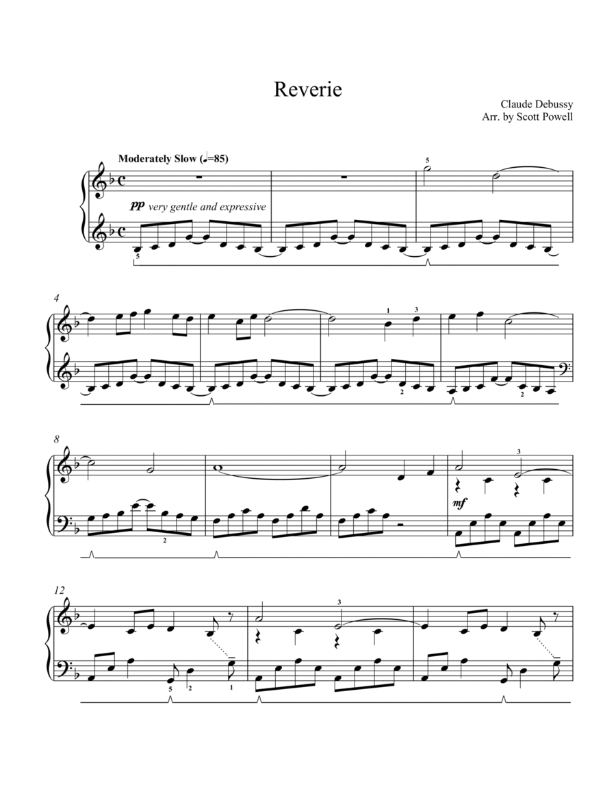 Reverie - Early Intermediate Piano