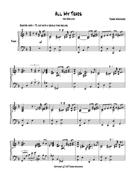 All My Tears (jazz piano solo)