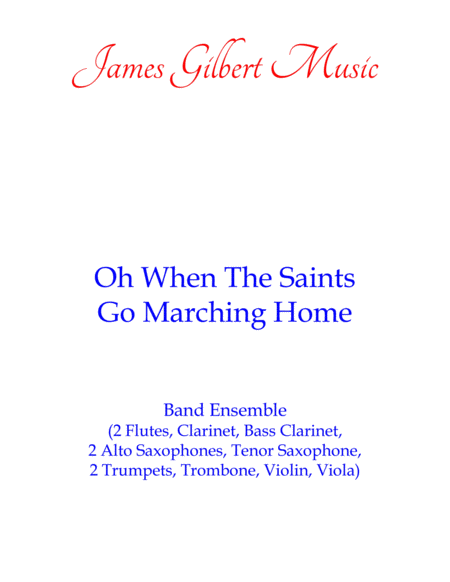 Oh When The Saints Go Marching In