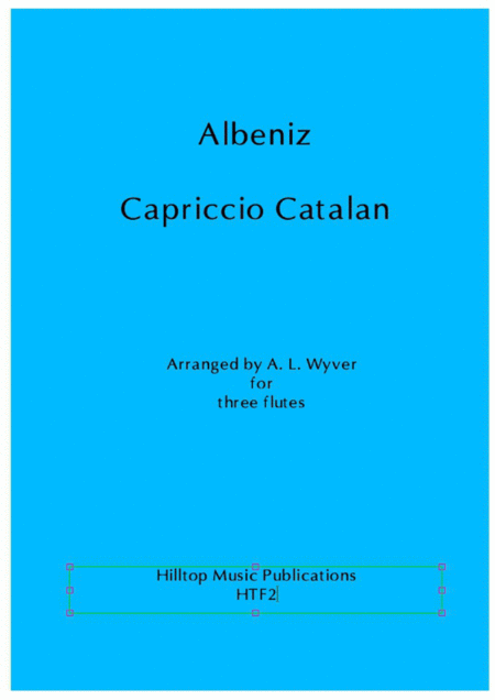 Capriccio Catalan arr. three flutes