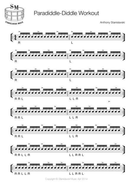 Paradiddle Workout 1