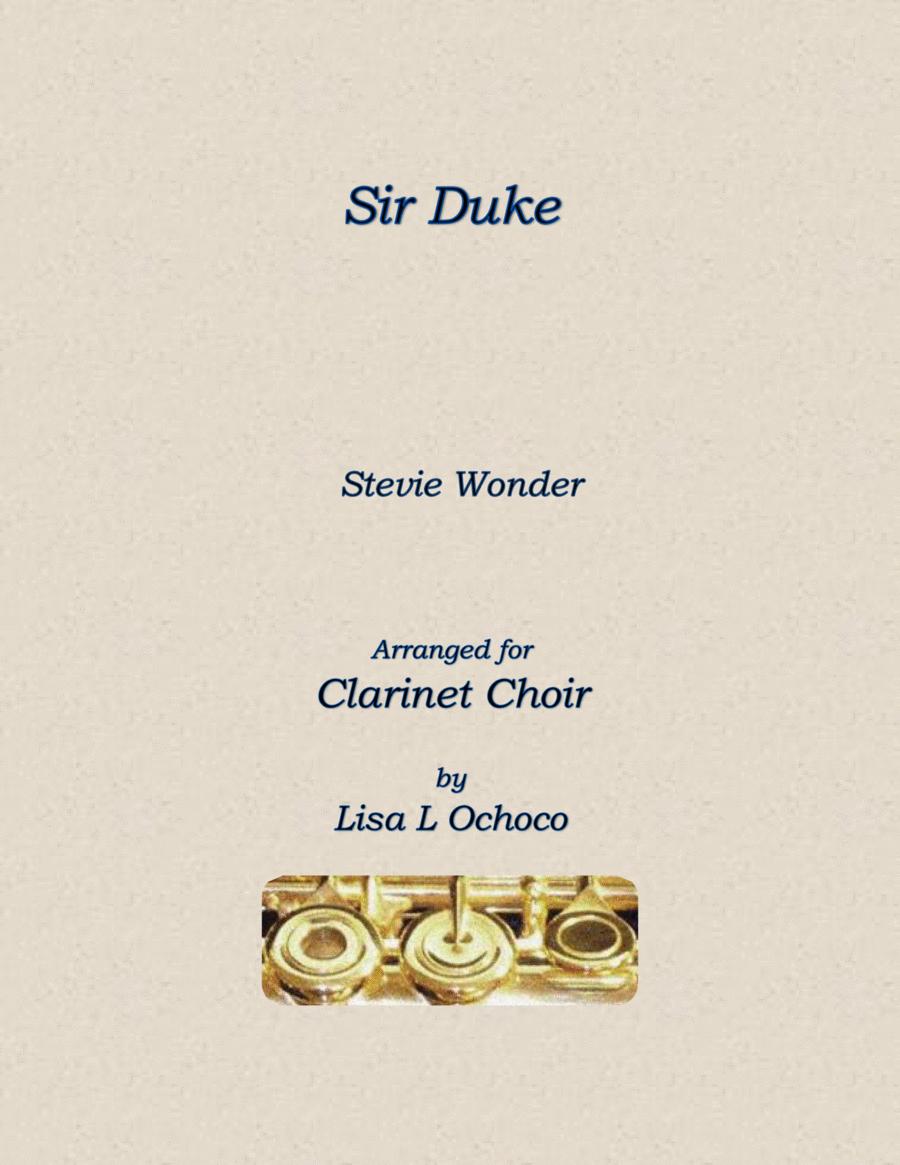 Sir Duke for Clarinet Choir