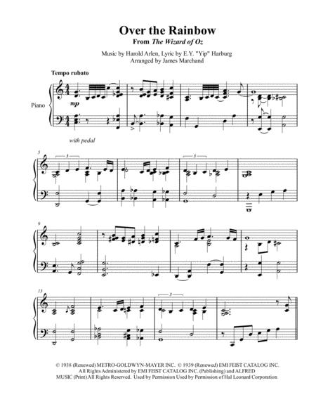 Over The Rainbow (jazz arrangement)