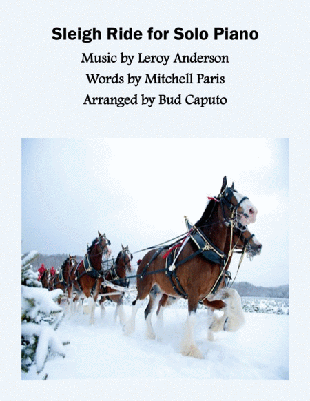 2016 Holiday Christmas Entry - Sleigh Ride for Solo Piano