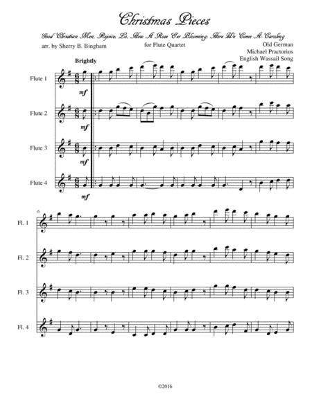 Christmas Pieces for Flute Quartet
