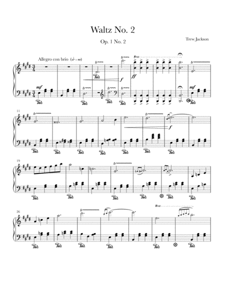Waltz No. 2 in E Major