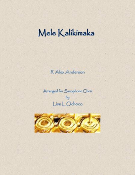 Mele Kalikimaka for Saxophone Choir