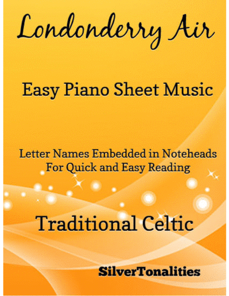 Londonderry Air Easy Piano Sheet Music