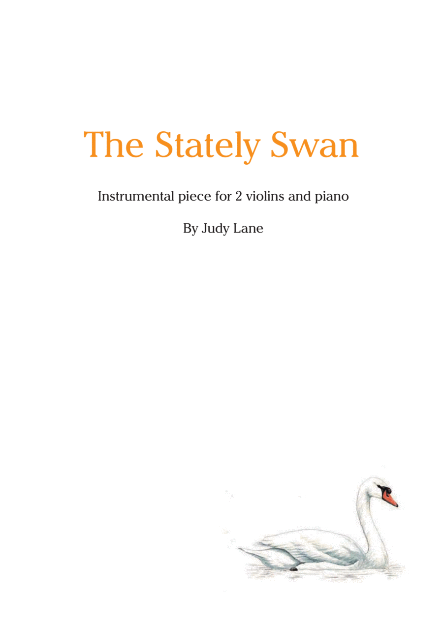 The Stately Swan for piano and 2 violins or flutes