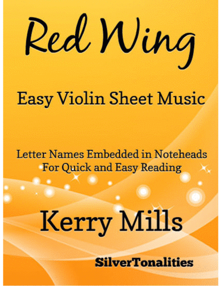 Red Wing Easy Violin Sheet Music