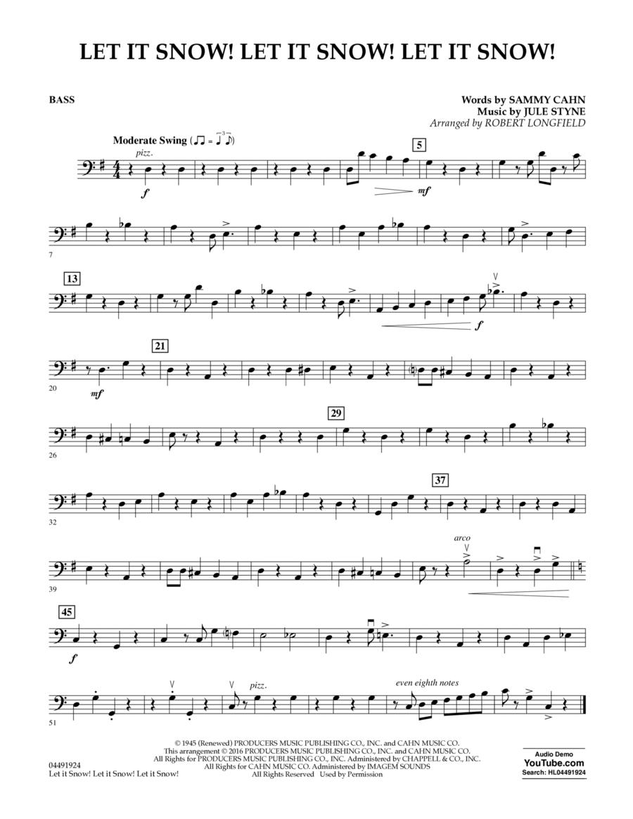 Let It Snow! Let It Snow! Let It Snow! - String Bass