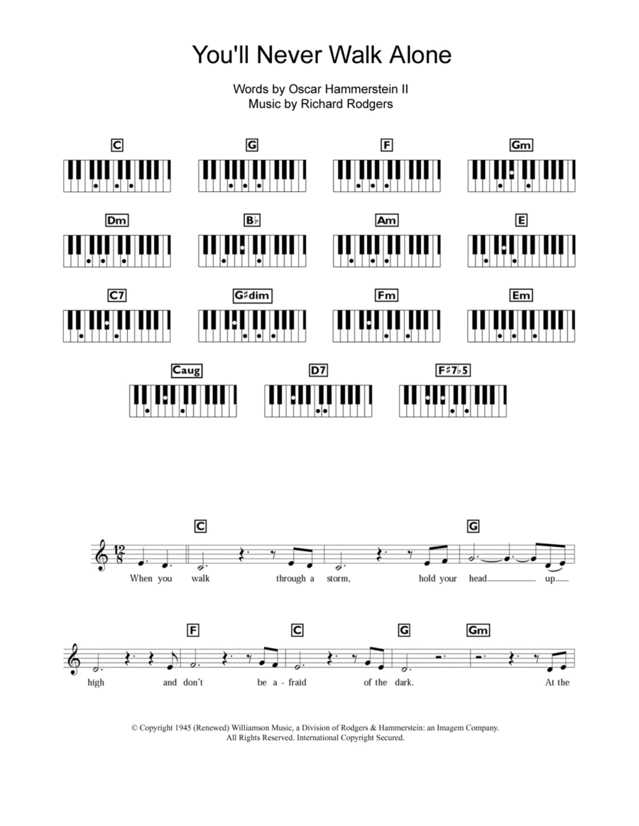 You'll Never Walk Alone (from Carousel)