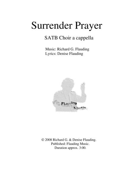 Surrender Prayer (Choir)