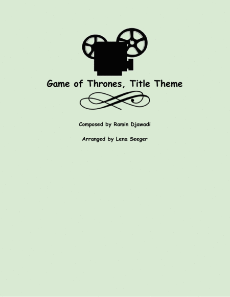 Game Of Thrones (two violins and cello)