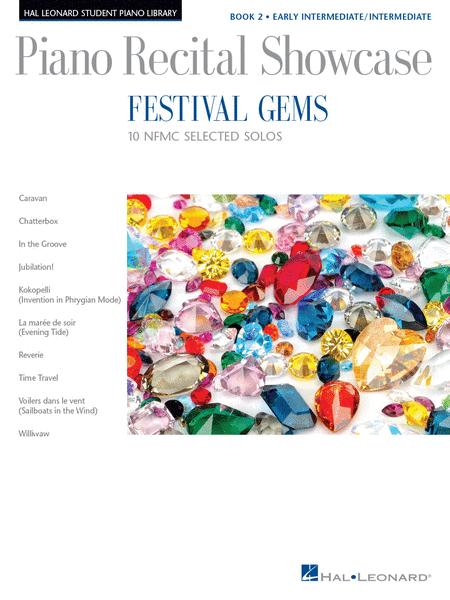 Festival Gems Book 2 - 10 Outstanding NFMC Early Intermediate/Intermediate Solos
